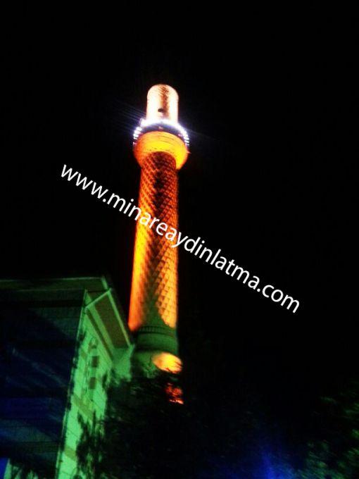 minare ışıklandırması