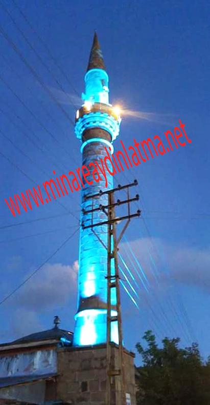 ardahan çıldır kenarbel minare led aydınlatma