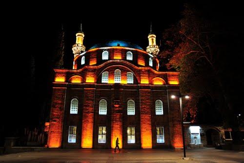 minare ve kubbe aydınlatma