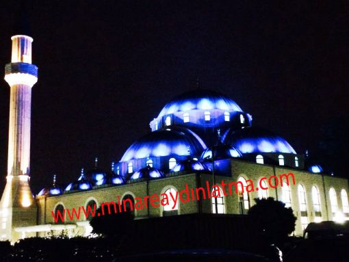 kubbe minare led ışık