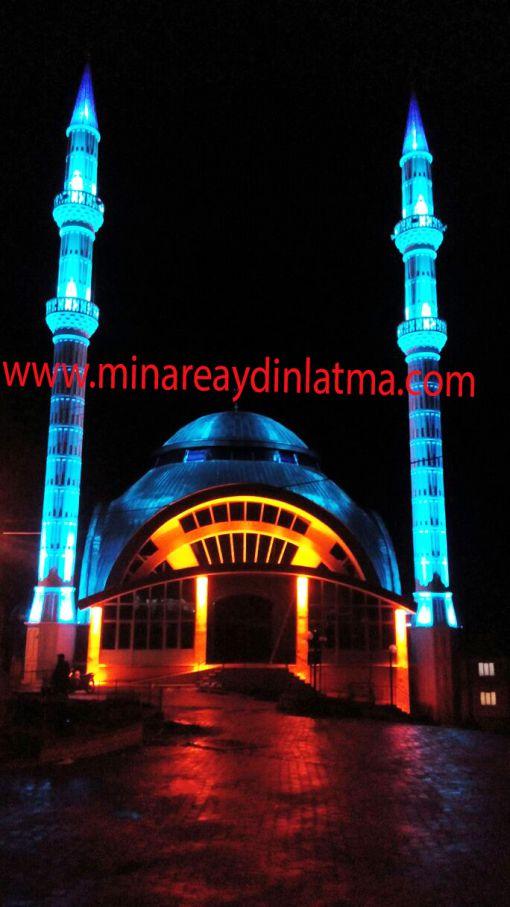 led minare kubbe aydınaltma
