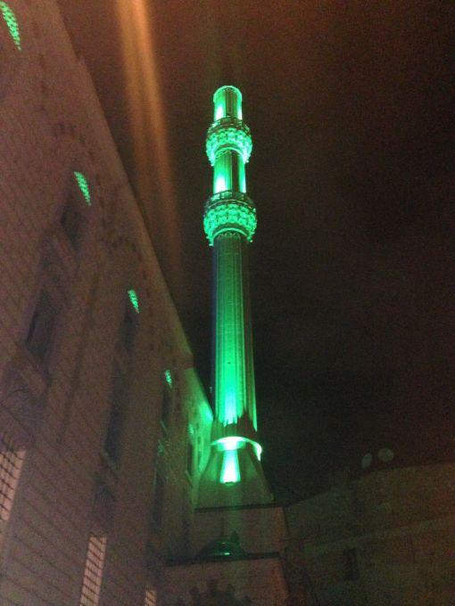 minare aydınlatma 2 şerefe