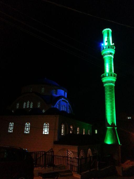 minare aydınlatmaları