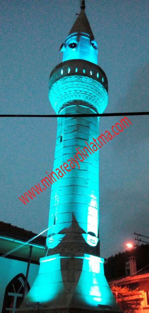 minare ışıkları beycce camii