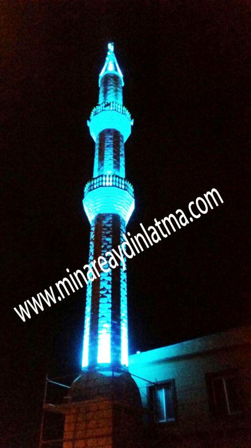 minare led aydınlatma alem aydınlatma