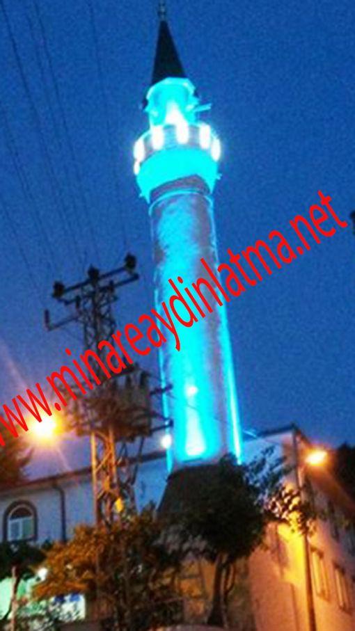minare aydınlatma cennet yeşili