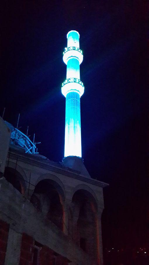 minare led ışık
